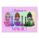 ¡Creo en magia! Tarjeta