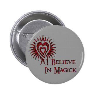 Creo en Magick Pins
