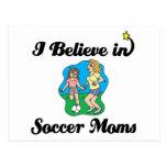 creo en mamáes del fútbol postal