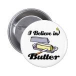 creo en mantequilla pin