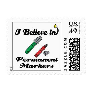 creo en marcadores permanentes sellos