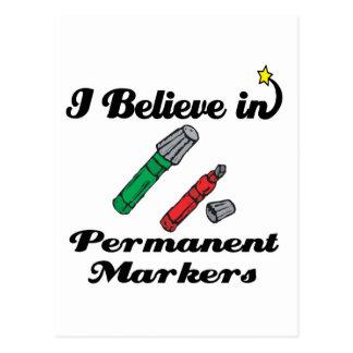 creo en marcadores permanentes postal