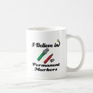 creo en marcadores permanentes tazas de café