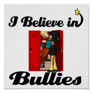 creo en matones póster