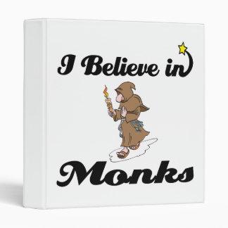 creo en monjes