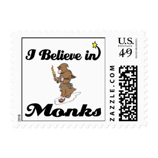 creo en monjes sello