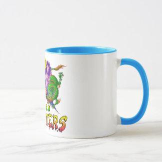 Creo en monstruos taza