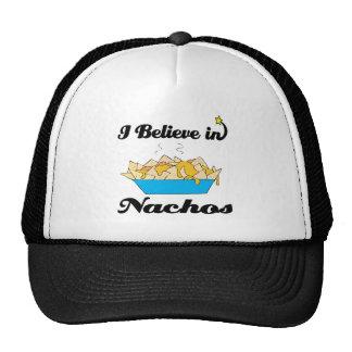 creo en nachos gorros bordados