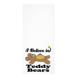 creo en osos de peluche lona