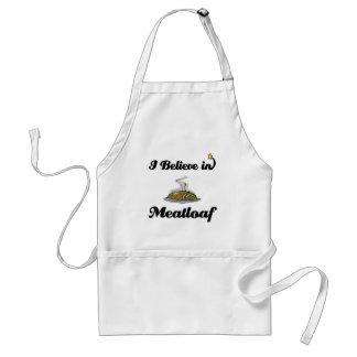 creo en pan con carne delantal