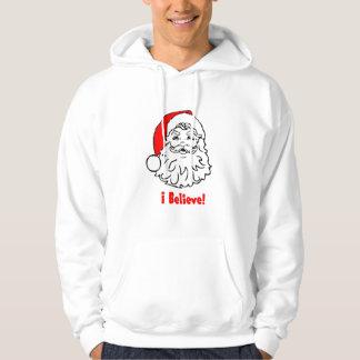 Creo en Papá Noel Pulóver Con Capucha
