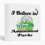 creo en parques de atracciones