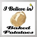 creo en patatas cocidas impresiones