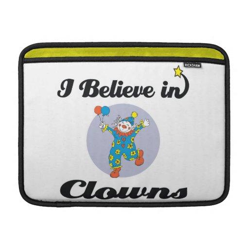 creo en payasos funda  MacBook