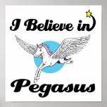 creo en Pegaso Posters