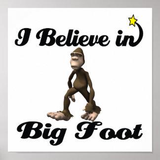 creo en pie grande poster
