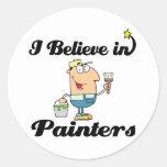 creo en pintores etiquetas