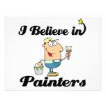 creo en pintores invitaciones personales