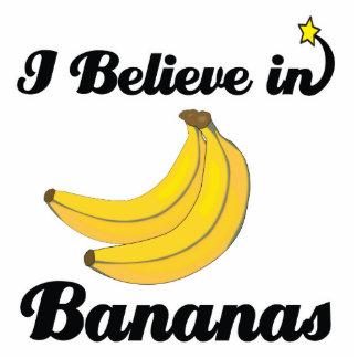 creo en plátanos fotoescultura vertical