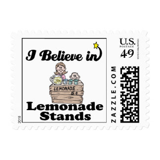 creo en puestos de limonadas sellos