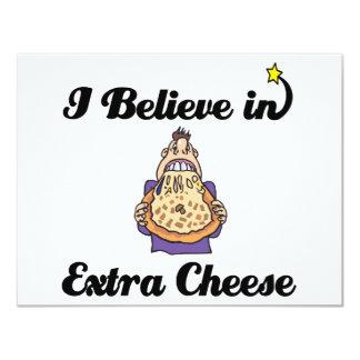 creo en queso adicional invitación