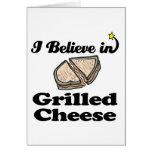 creo en queso asado a la parrilla tarjeton