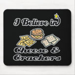 creo en queso y galletas tapetes de raton