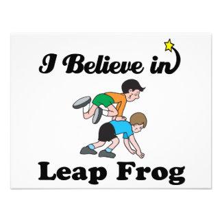 creo en rana del salto anuncio