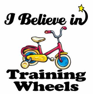 creo en ruedas de entrenamiento fotoescultura vertical