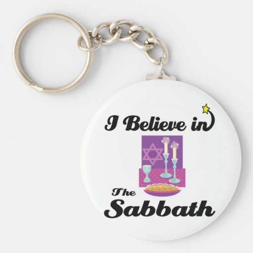 creo en Sabat Llavero Redondo Tipo Pin