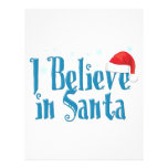 Creo en Santa Plantilla De Membrete