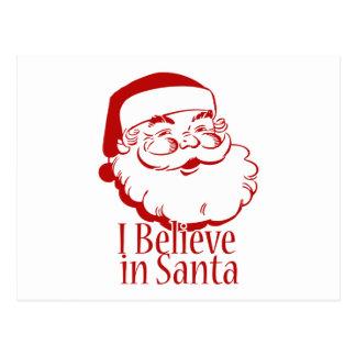 Creo en Santa Tarjeta Postal