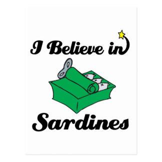 creo en sardinas postales