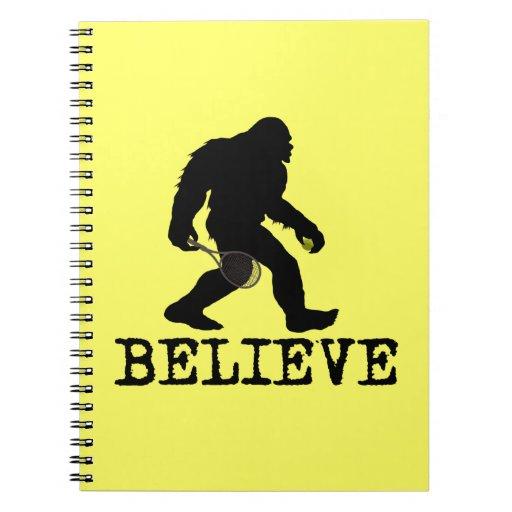 Creo en Sasquatch Libro De Apuntes