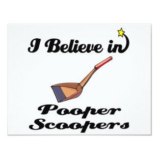 creo en scoopers del pooper anuncio personalizado