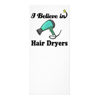 creo en secadores de pelo lonas personalizadas