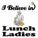 creo en señoras del almuerzo esculturas fotograficas