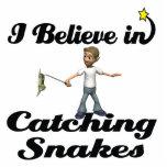 creo en serpientes de cogida escultura fotográfica