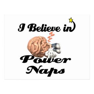 creo en siestas del poder postal