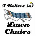 creo en sillas de jardín escultura fotografica