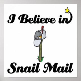 creo en snail mail impresiones