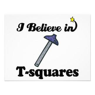 creo en t-cuadrados invitacion personalizada