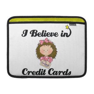 creo en tarjetas de crédito funda macbook air