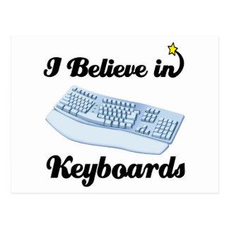 creo en teclados postal