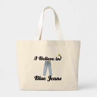 creo en tejanos bolsas