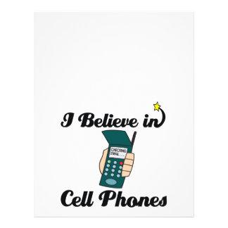 creo en teléfonos celulares tarjetones