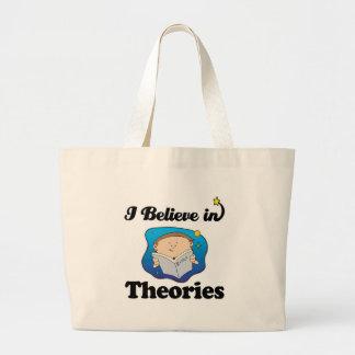 creo en teorías bolsas