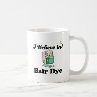 creo en tinte de pelo taza