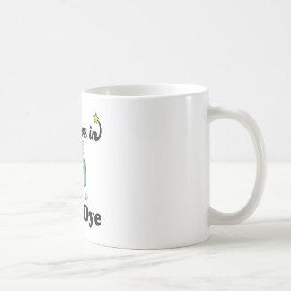 creo en tinte de pelo taza de café