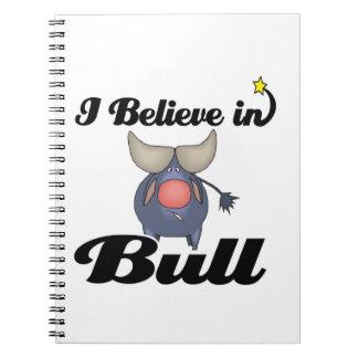 creo en toro libreta espiral